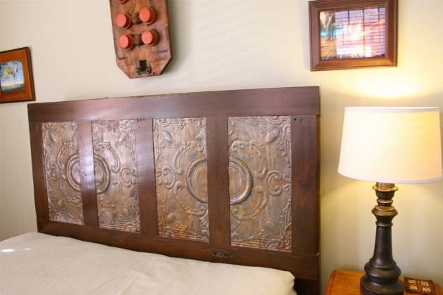 Headboard Made From A Door Wooden Ideas Images 11