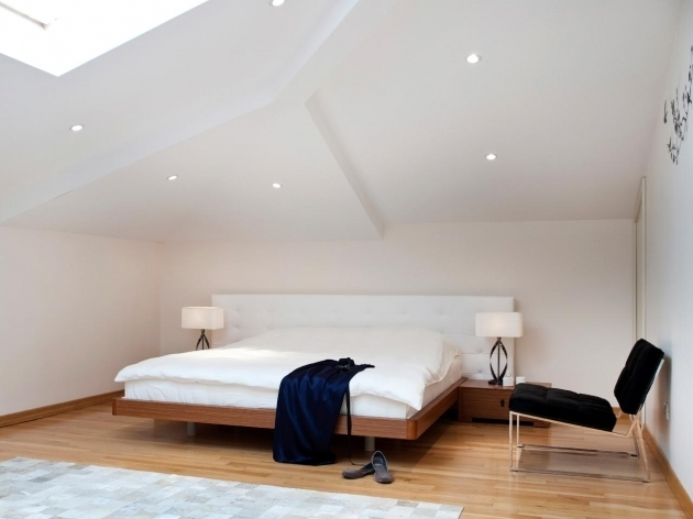 How To Adding Bedroom In Attic With Minimal Platform Bed Image 20