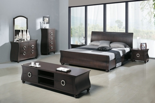 Impera Modern Contemporary Lacquer Platform Bed Bedroom Furniture Pictures 27