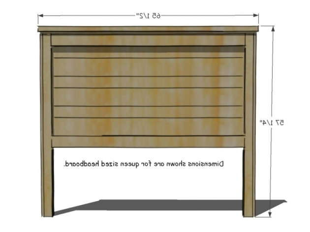 King Size Headboard Dimensions Build A Rustic Wood Picture 66