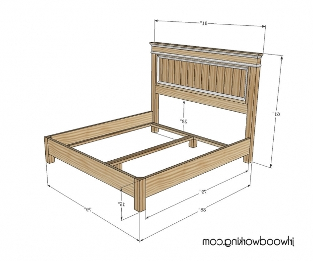 King Size Headboard Dimensions Plans Inspired Fancy ...