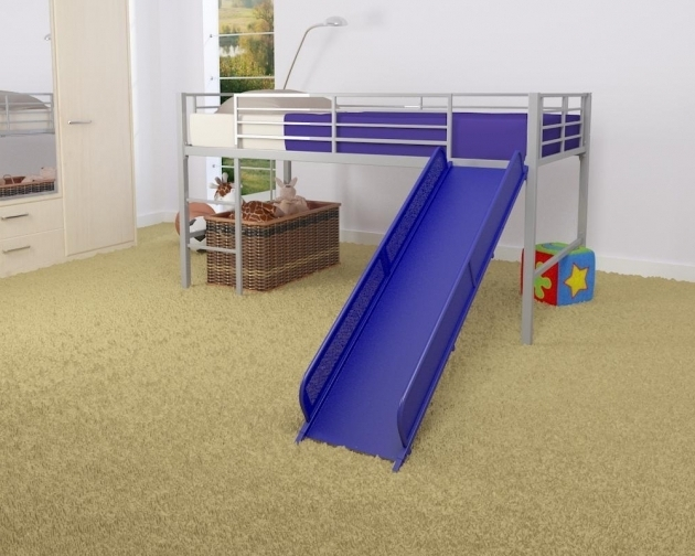 Metal Loft Bed With Slide Inspirations Picture 52
