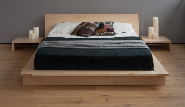 Minimal Platform Bed Modern Ideas Low Platform Beds Photos 27