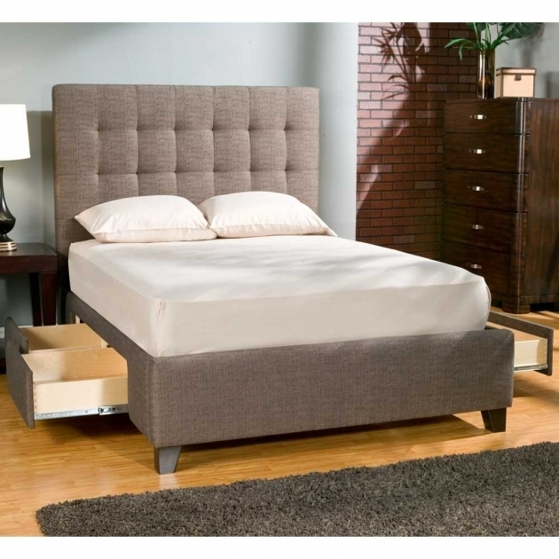 Modern Storage Platform Bed Queen Small Design Image 42