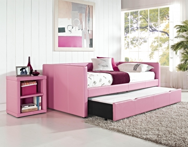 Pink Daybeds With Pop Up Trundle Pictures 94