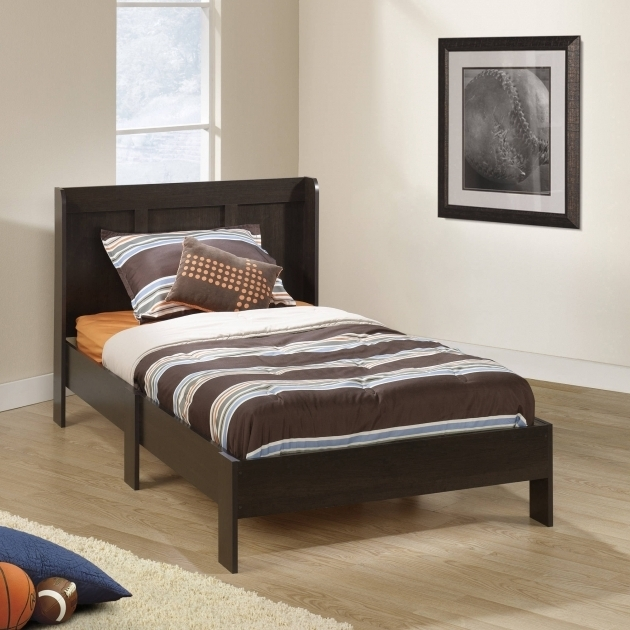 Platform Bed With Mattress Parklane Twin Platform Bed And Headboard Multiple Photos 24
