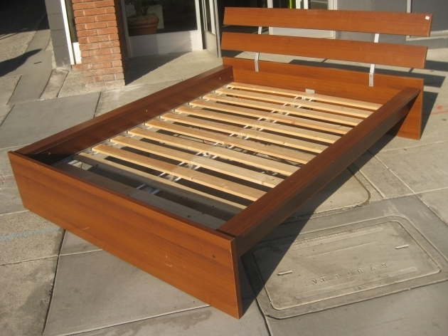 Queen Platform Bed Frame With Headboard Quick Woodworking Projects Picture 52