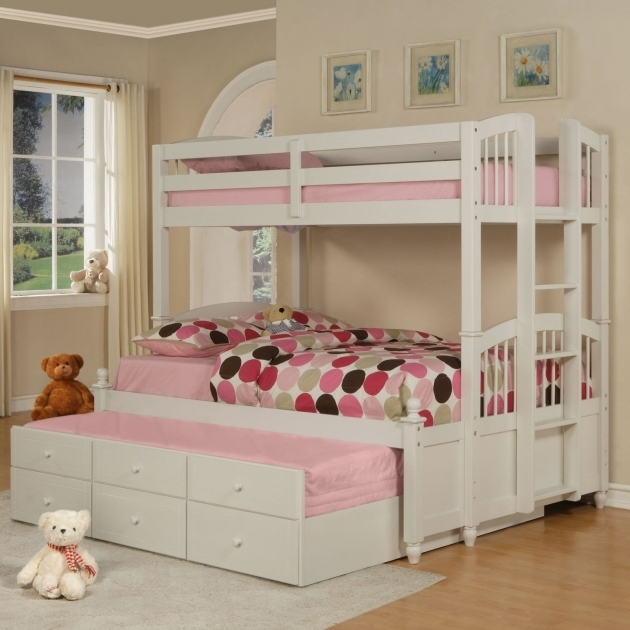 Teens Bedroom Teenage Girl Ideas With Bunk Bed Replacement Ladder And Laminate Flooring For White Pink Mattress Picture 09