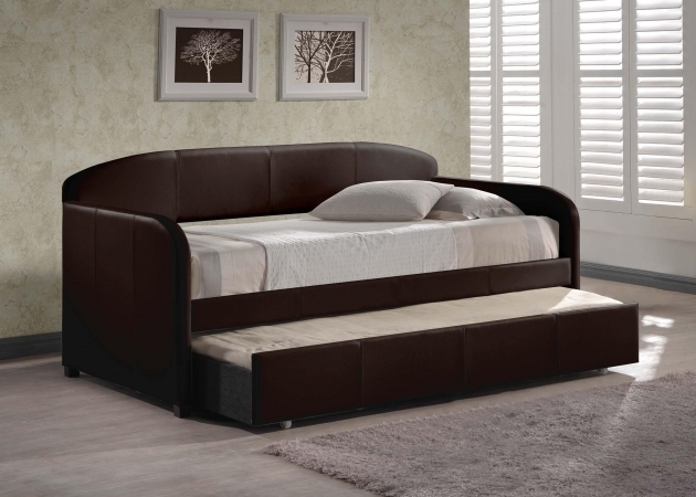 Mission Wood Twin Xl Daybed Frame In Espresso Fashion Bed
