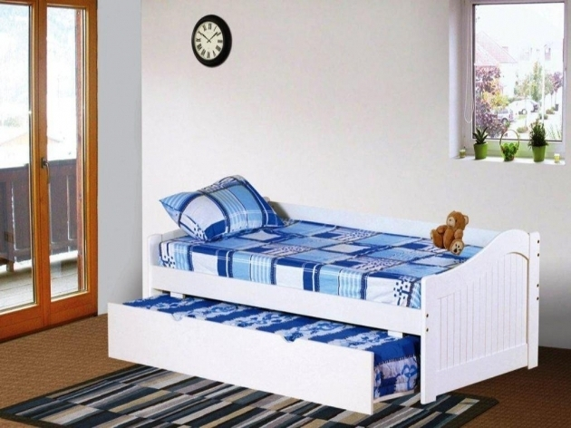 Twin XL Daybed Frame With Trundle White Ideas Pictures 89