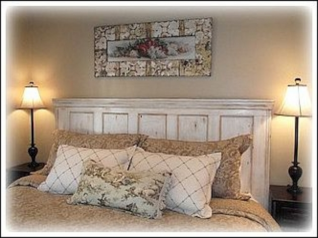 Unique Bedroom Headboard Made From A Door Furniture Ideas Pictures 40