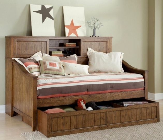 Wooden Queen Daybed Frame And Trundle Photos 70