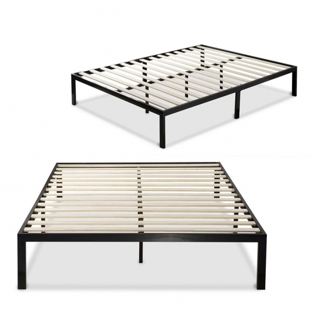 Armoire Metal Bed Frame Platform Bed Vs Box Spring Image 89