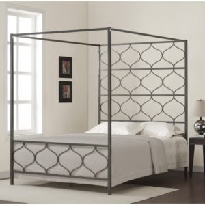 Metal Canopy Bed Frame Queen