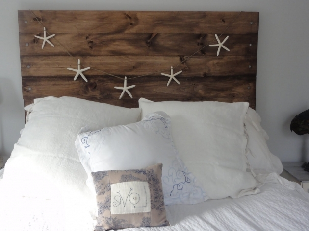 Barn Wood Pallet Reclaimed Wood King Headboard Images 06