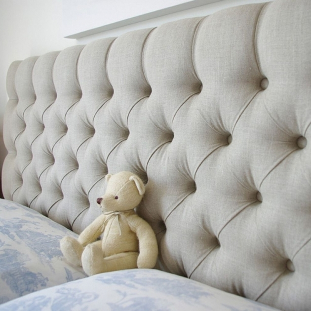 Beauty Quilted Stand Alone Headboard Images 27