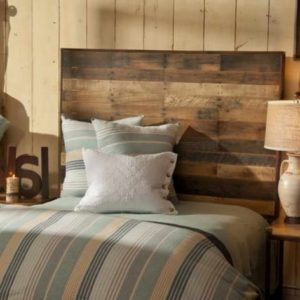 Reclaimed Wood King Headboard
