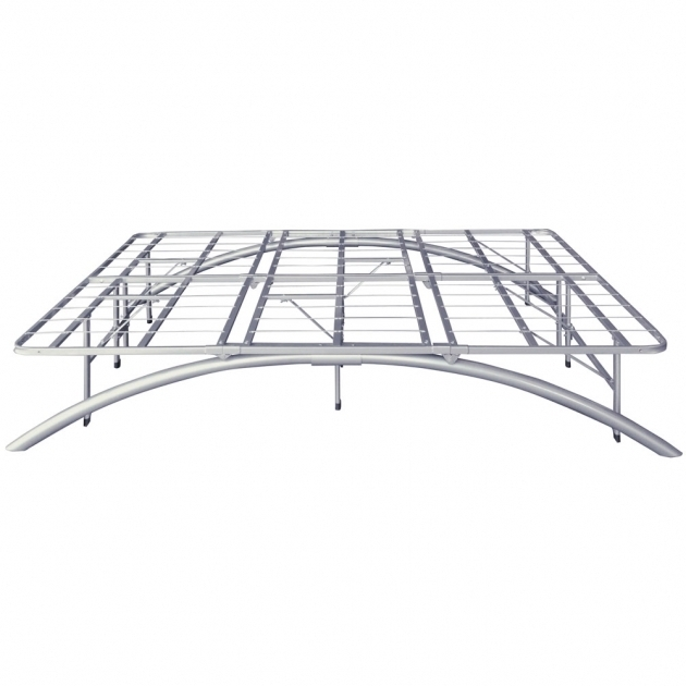 Solid California King Metal Bed Frame With Wheels Images