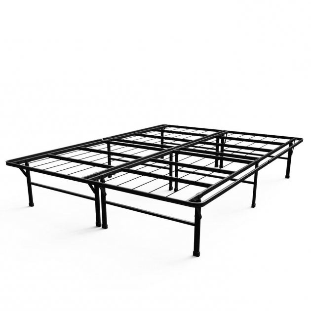 California King Metal Bed Frame Zinus Deluxe Smartbase Photos 17