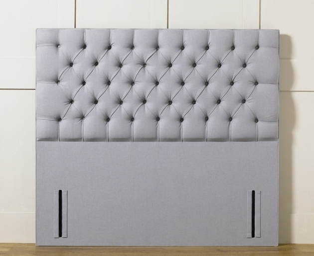 Chesterfield Upholstered Stand Alone Headboard Image 14