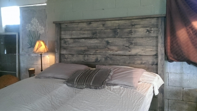 Gray Wood Headboard Ideas Image 68