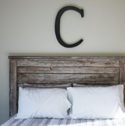 Gray Wood Headboard Rustic Headboard Diy Projects Images 95