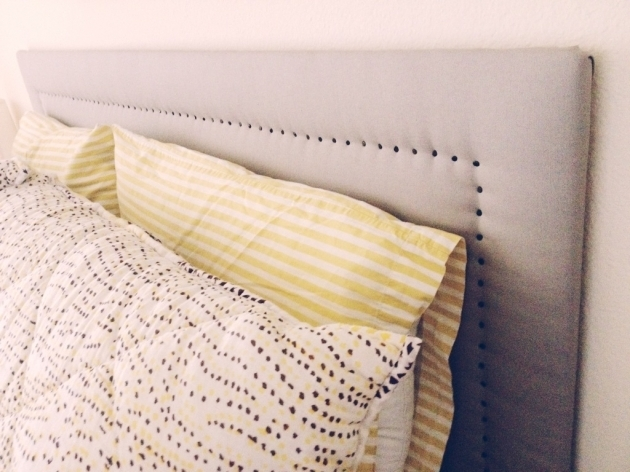 How To Make A Fabric Headboard Finished Photo 26