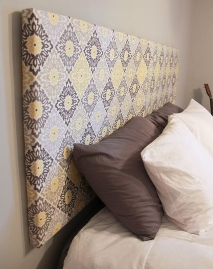How To Make A Fabric Headboard Ideas Pictures 51