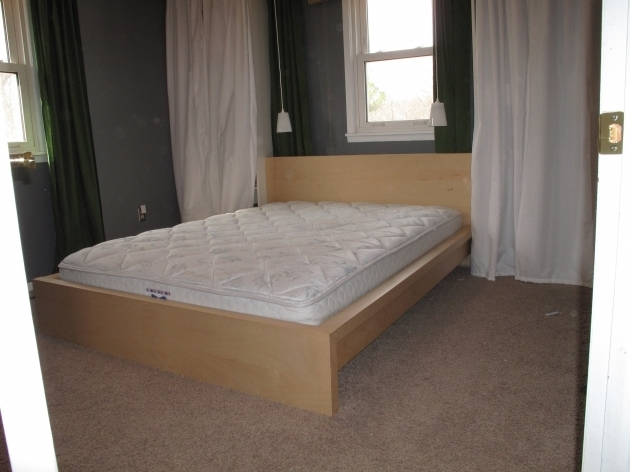 Ikea Malm Bed Frame White King Platform Bed Vs Box Spring Pictures 45