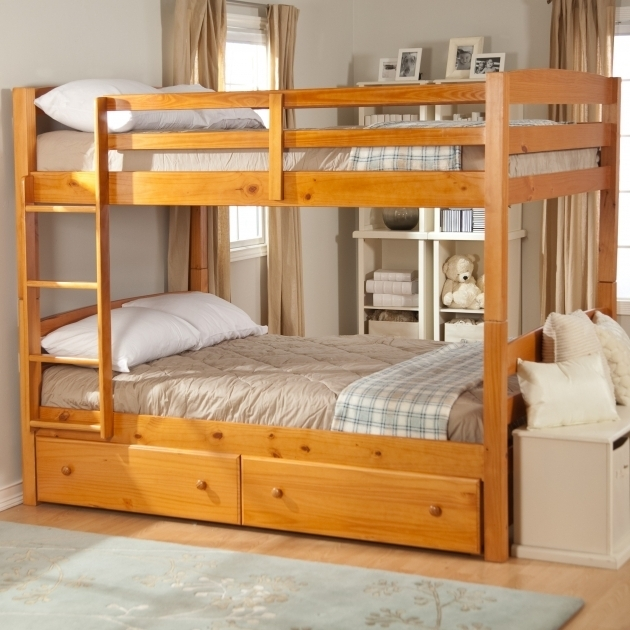 Jefferson Over Full Bunk Bed With Queen Size Bottom With Stairway Picture 47