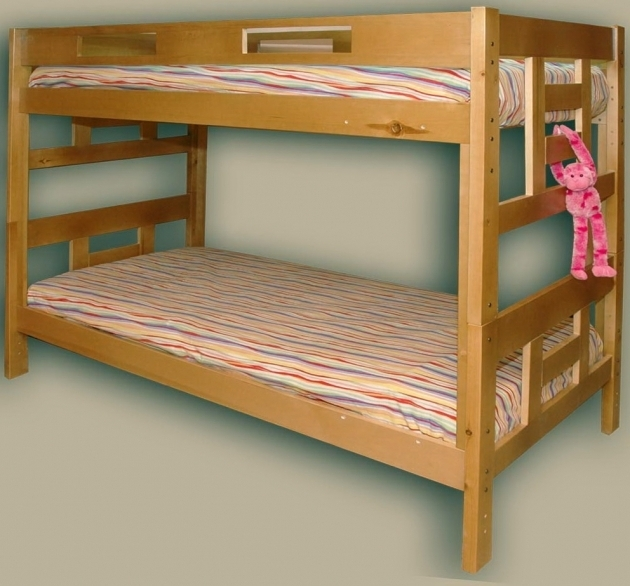 Low Height Bunk Beds Wood Design Ideas Pictures 27
