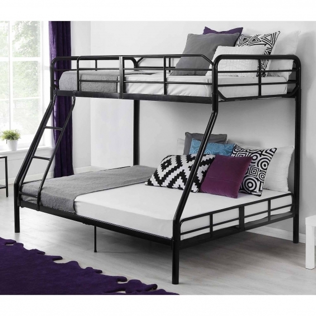 Mainstays Twin Over Full Bunk Bed With Mattress Included Pictures 33