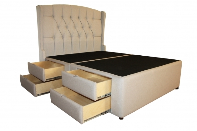 Meridian Diamond Tufted Luxury 8 Drawer Storage Queen Platform Bed With Storage And Headboard Photo 53