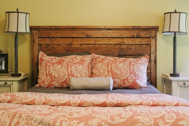 Reclaimed Wood King Headboard Ideas Photo 58
