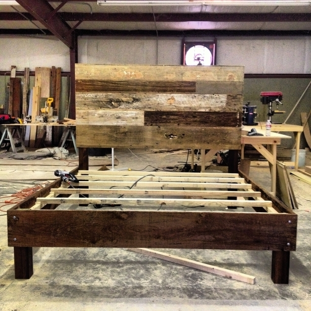 Reclaimed Wood King Headboard Plans Photos 56
