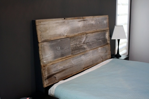 Rustic Bedroom HandmadeReclaimed Wood King Headboard Barnwood Photos 41