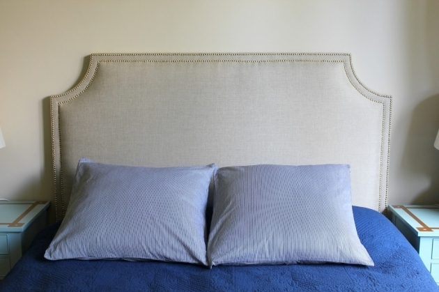 Simple Diy Upholstered Headboard How To Make A Fabric Headboard Picture 97