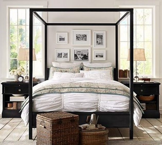 Strong Metal Canopy Bed Frame Queen Images 58