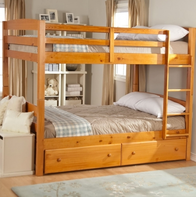Wood Low Height Bunk Beds With Stairs Design Ideas Picture 85