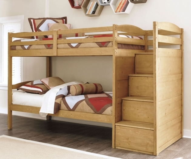 Ashley Furniture Bunk Beds Broffin B505 Twin Over Size Bunk Bed Images 15
