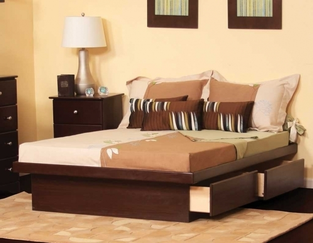 California King Size Platform Bed With Drawers Beds Storage Sets Popular Canada Picture 78