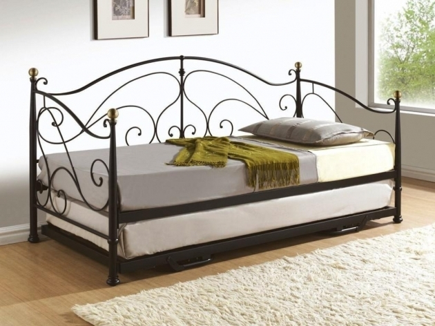 Cheap Metal Bed Frames Pop Up Trundle Image 76