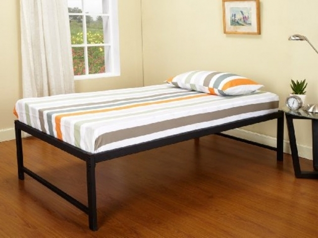Cheap Metal Bed Frames Twin Size Photo 98