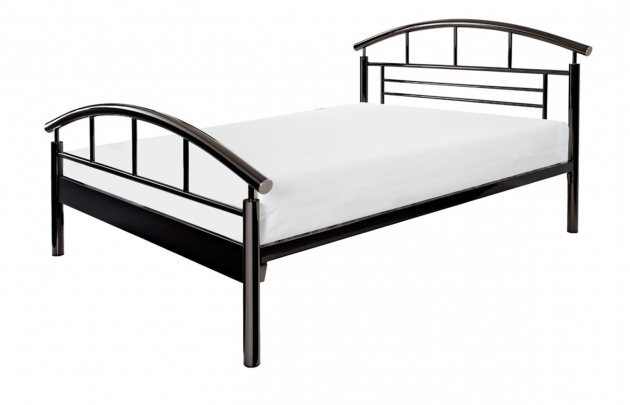 Jupiter Black Cheap Metal Bed Frames Bedroom Furniture Pictures 38