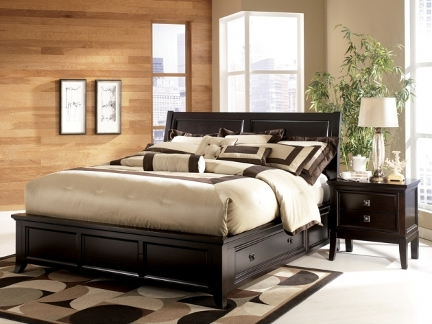 King Size Platform Bed With Drawers And Headboard Pictures 65