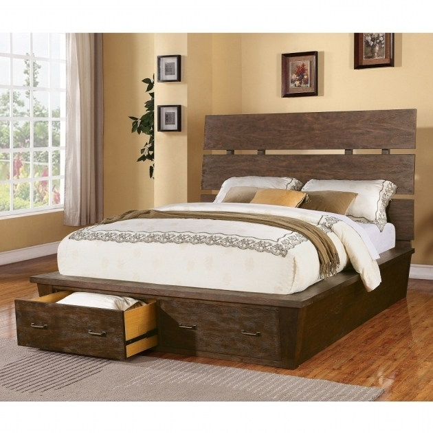 King Size Platform Bed With Drawers Ideas Pictures 40