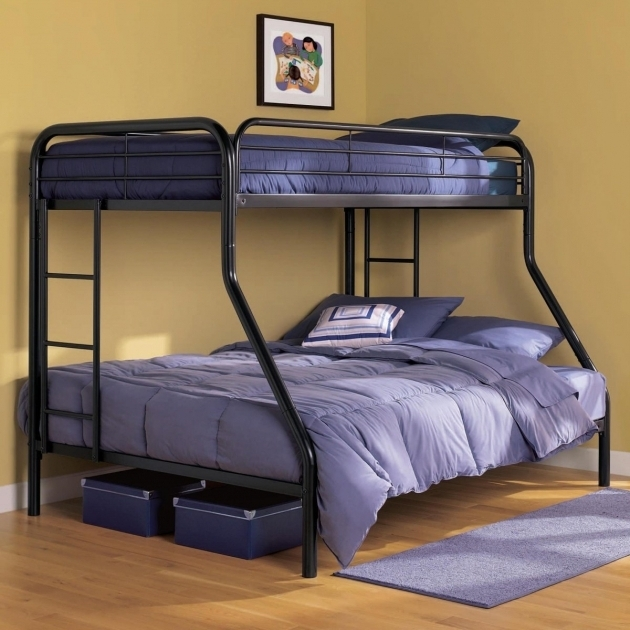 Modern Metal Bunk Beds Twin Over Full Bedding Images 75