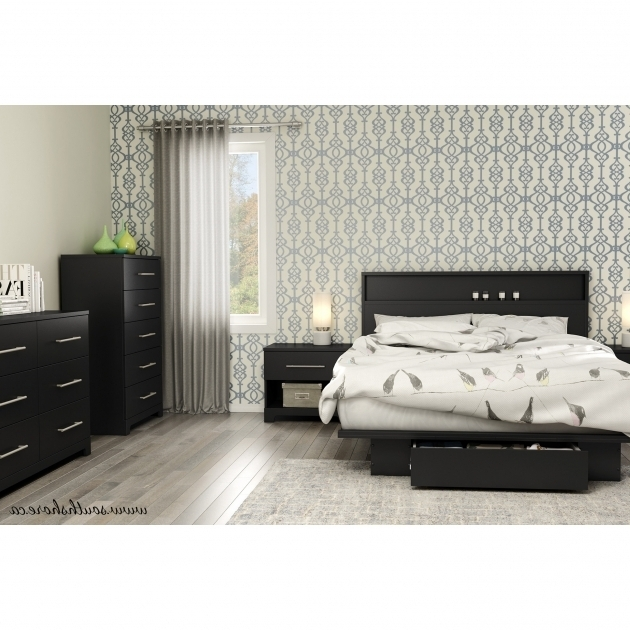 South Shore Primo Full Queen Platform Bed Frame With Storage Photo 59