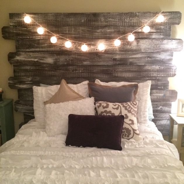 Whitewashed Rustic Rustic Headboards For Sale Made From Fenceposts Photos 33