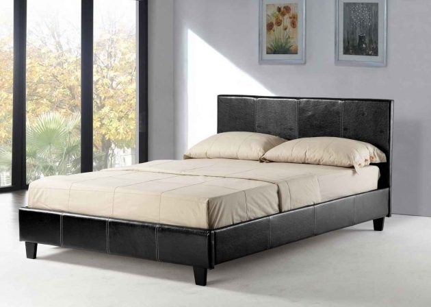 Cheap Queen Platform Beds With Headboard Pictures 70